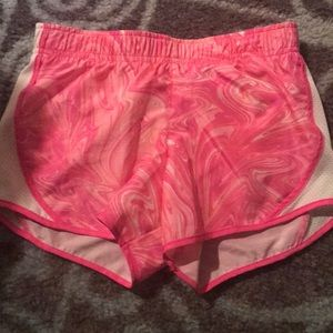 Marble pink shorts